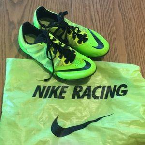 Sz 8.5 Nike track cleats